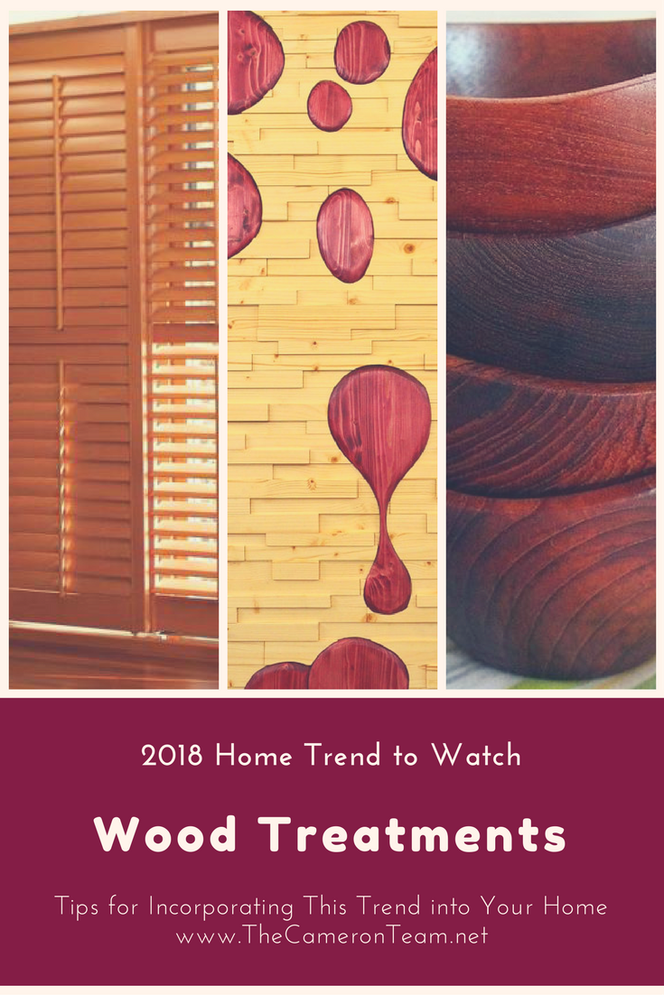 2018 Home Trend to Watch: Wood Treatments