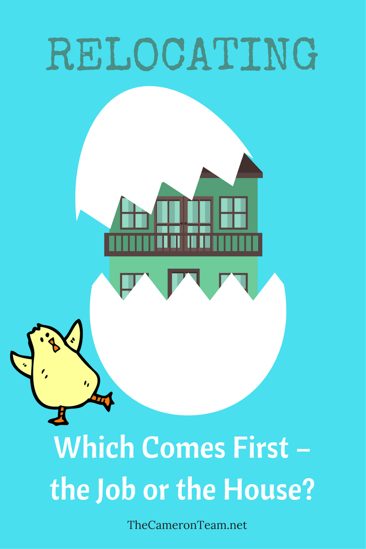 Which Comes First – the Job or the House?