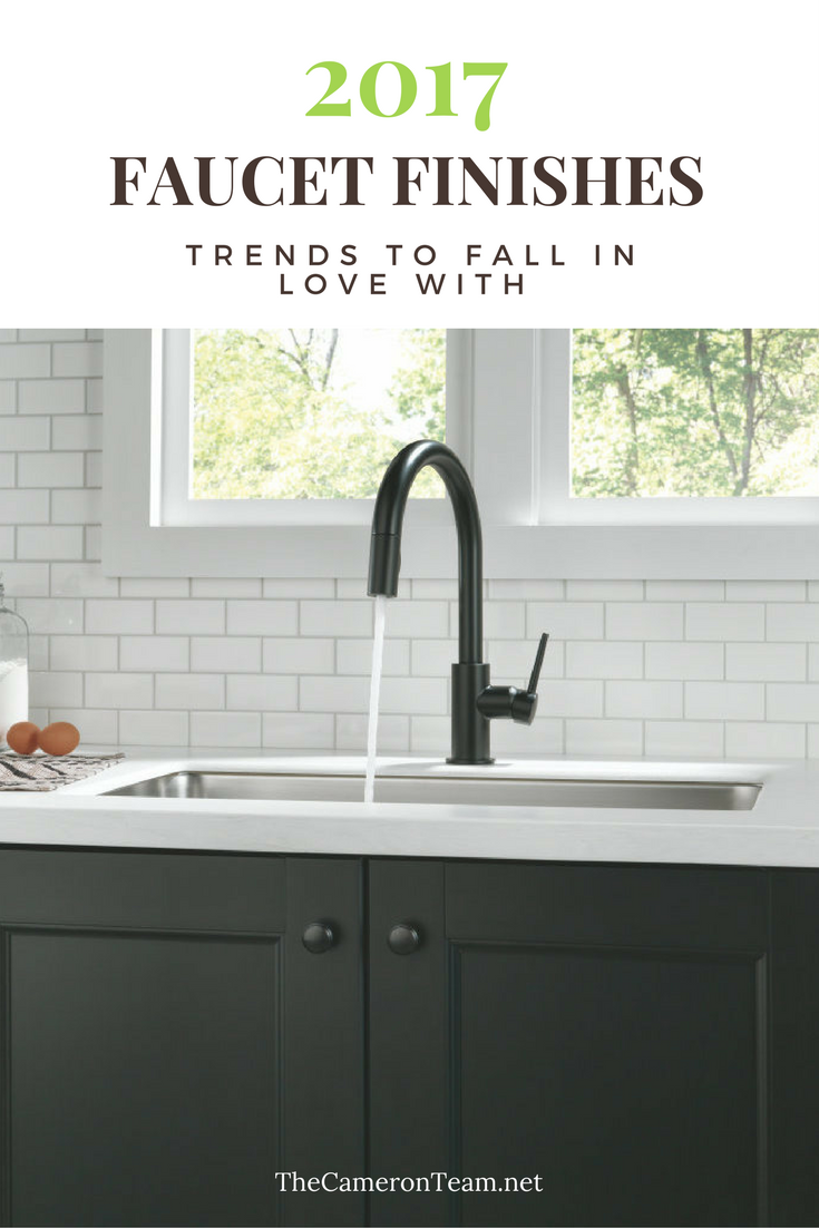 2017 Faucet Finishes Trends to Fall In Love With