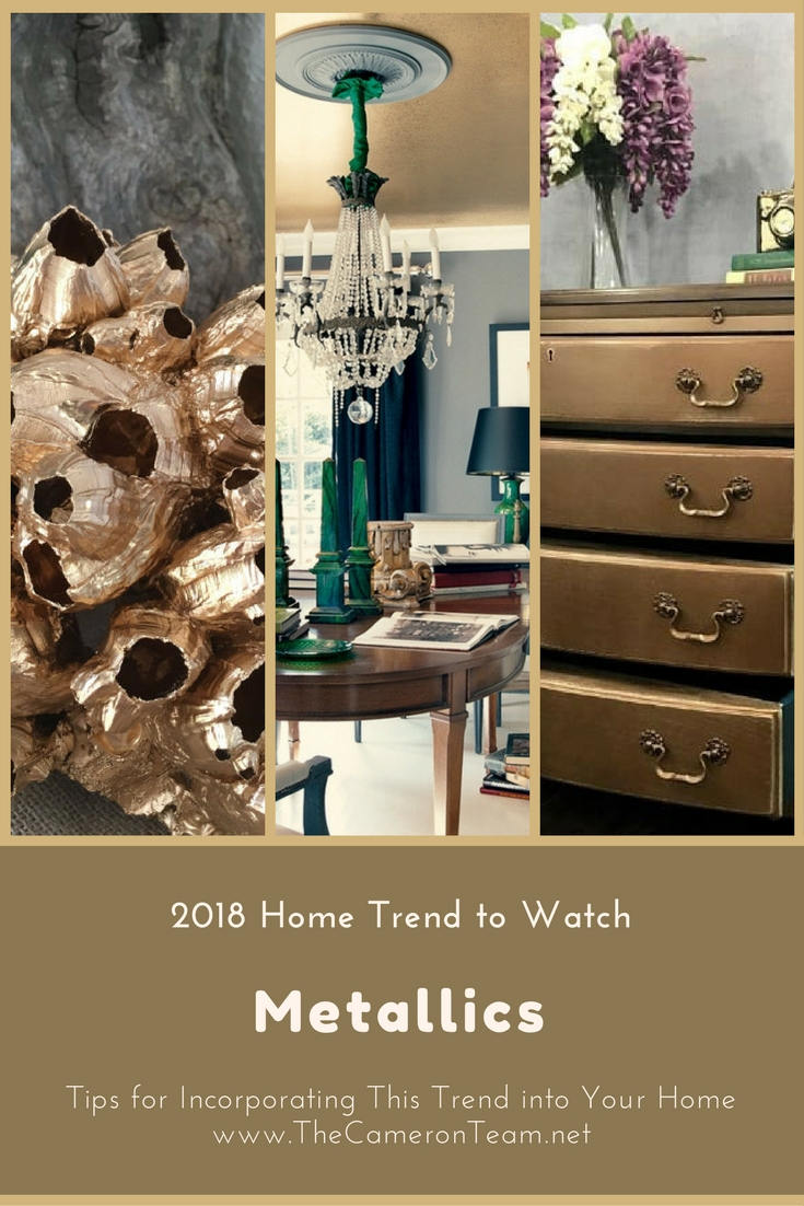 home trend furniture. 2018 Home Trend To Watch: Metallics Furniture