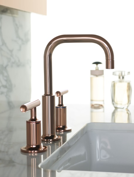 Kohler K-14406-4-RGD Purist Two Handle Widespread Bathroom Faucet 1.2 GPM