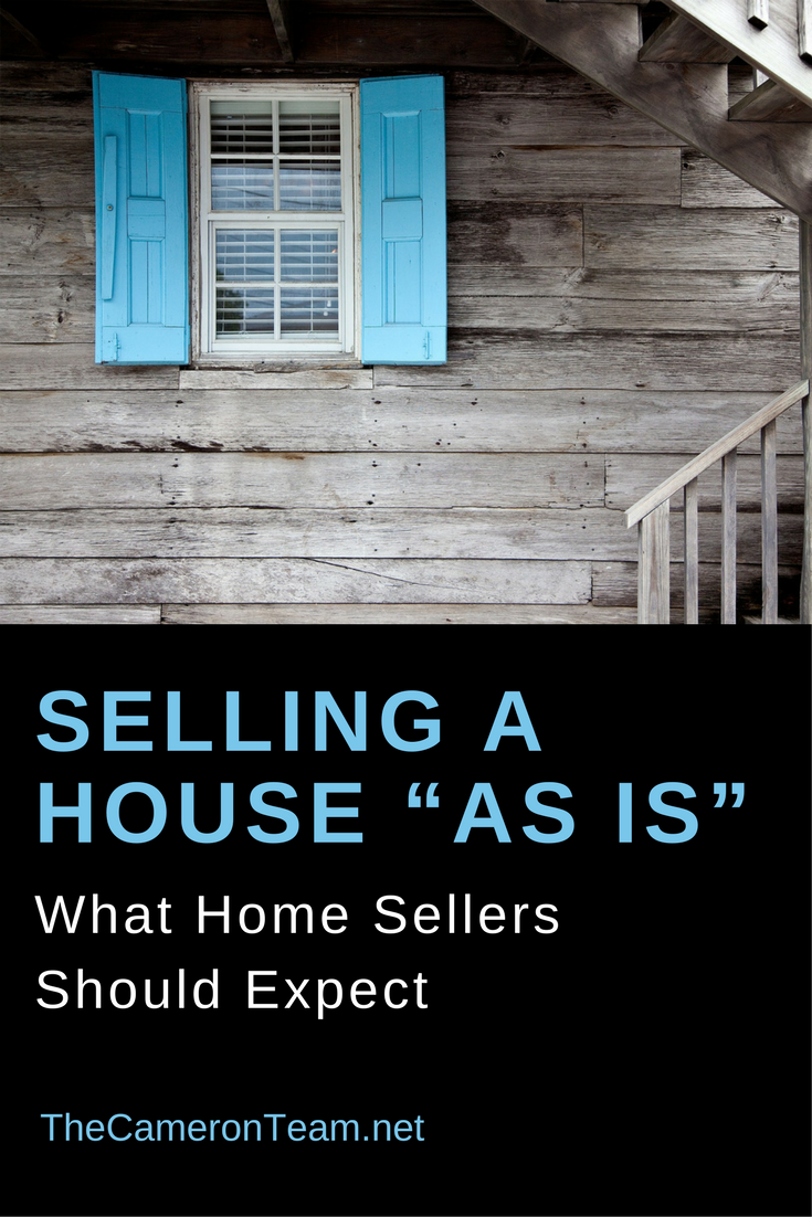 "Selling a House ""As Is"": What Home Sellers Should Expect"