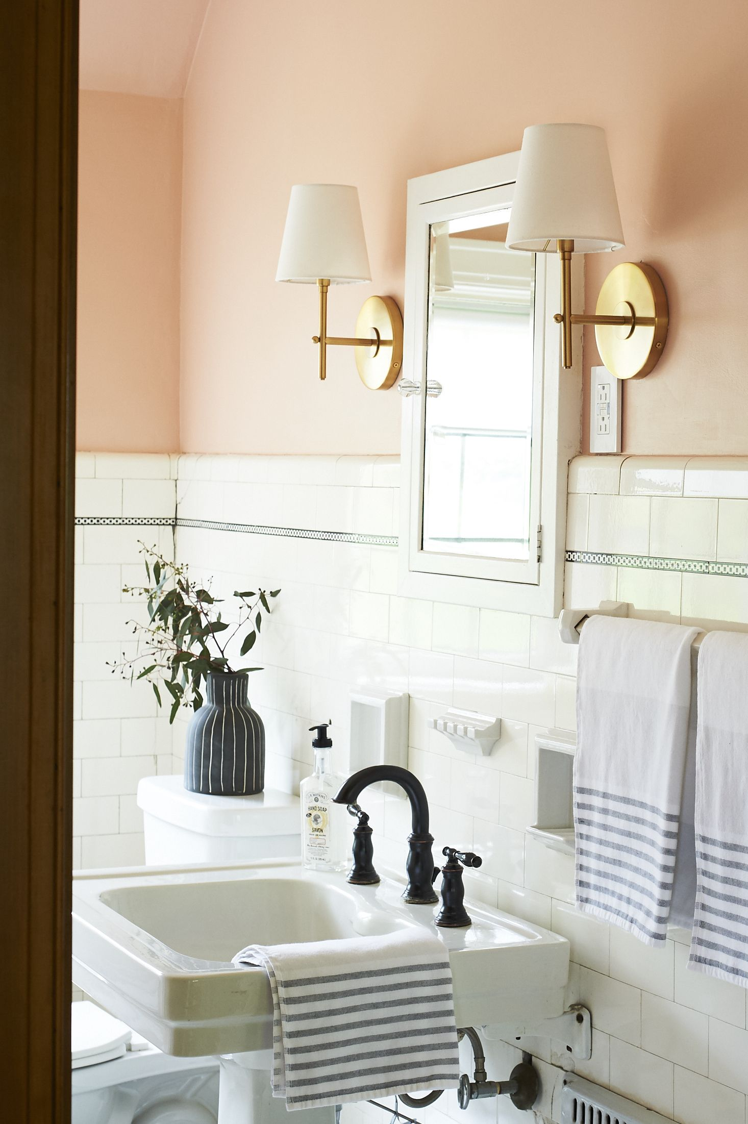 Blush Bathroom - Sweet Beast Blog