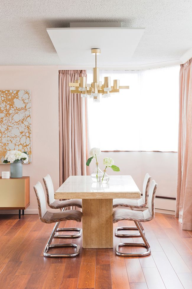 Help Me Design My Living Room: Don't Be Embarrassed To Blush: Decorating With Pink