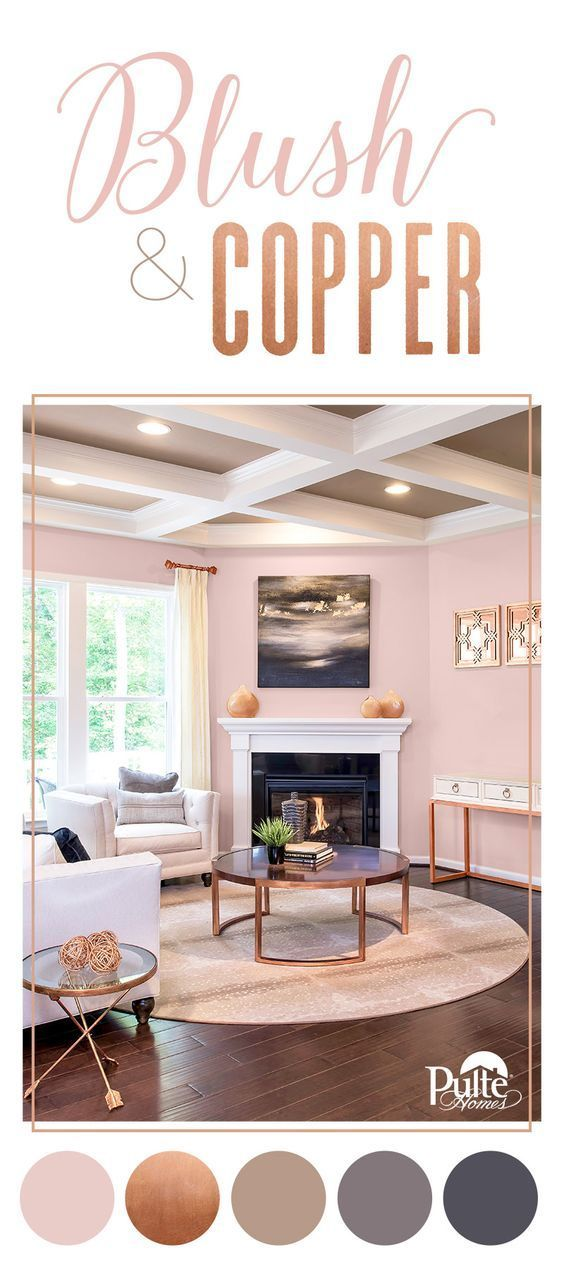Blush Color Palette - Pulte Homes