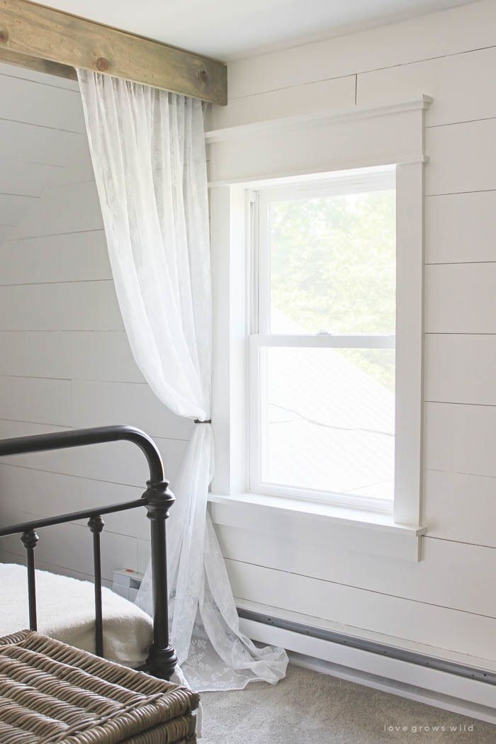 Farmhouse Window Trim - Love Grows Wild