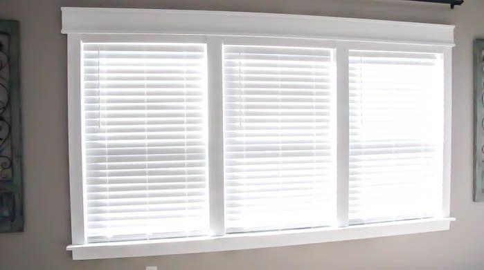 Remodelaholic - Craftsman Window Molding