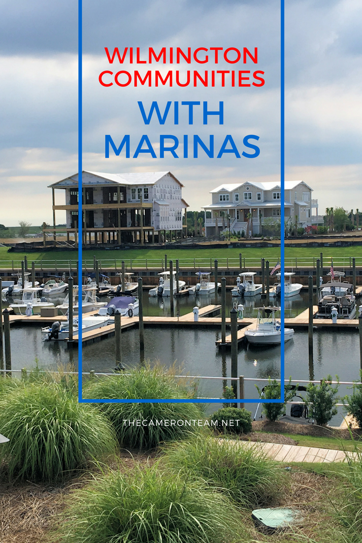 Wilmington Communities with Marinas