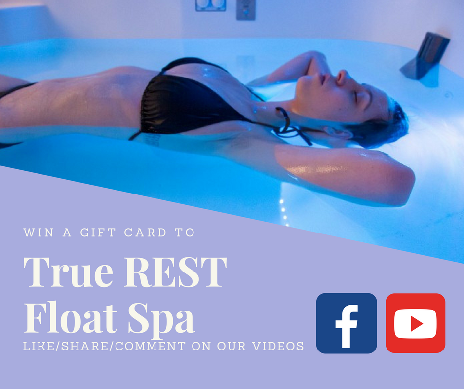 WIN A GIFT CARD TO True Rest Float Spa