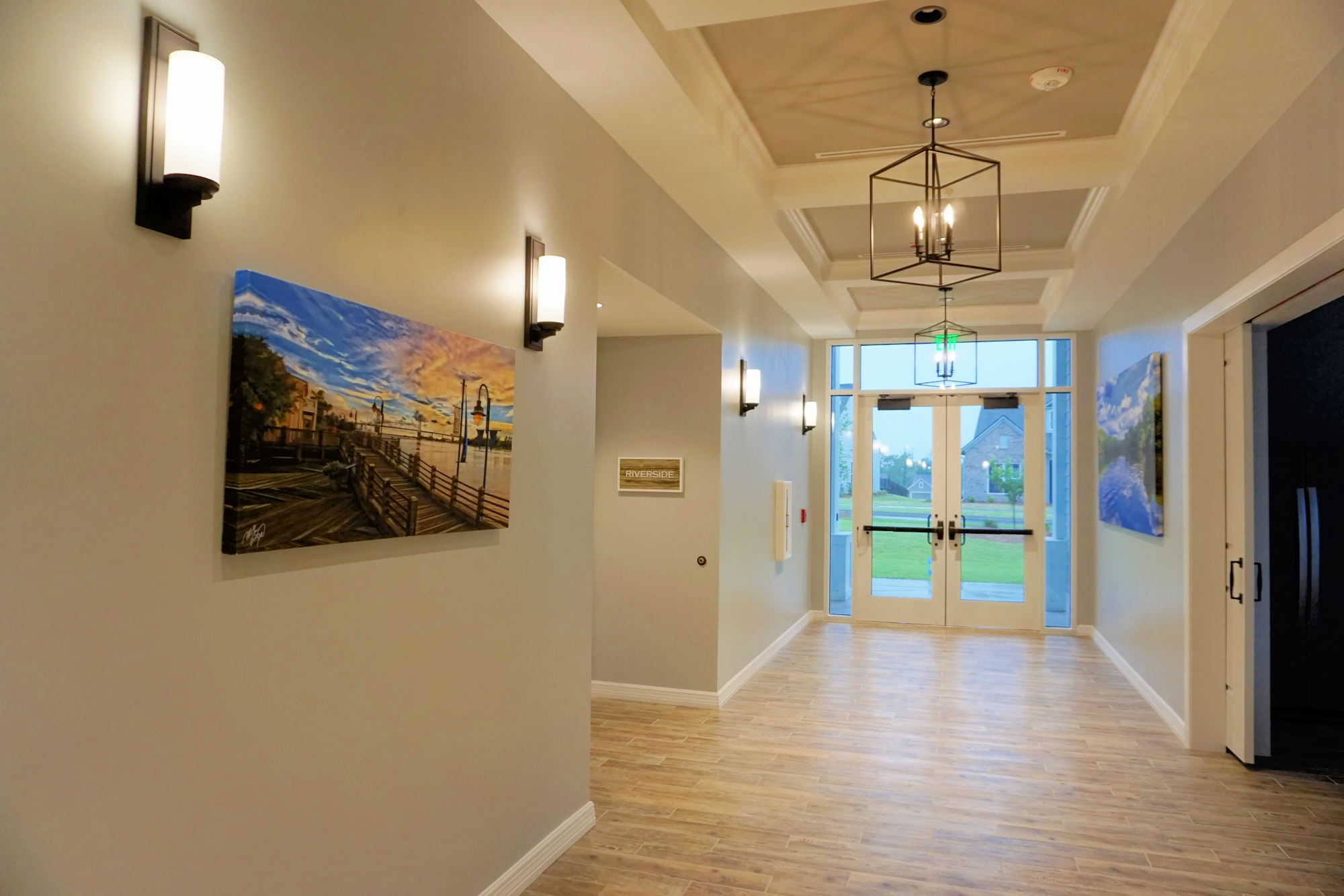 Del Webb of Wilmington - Clubhouse Hallway
