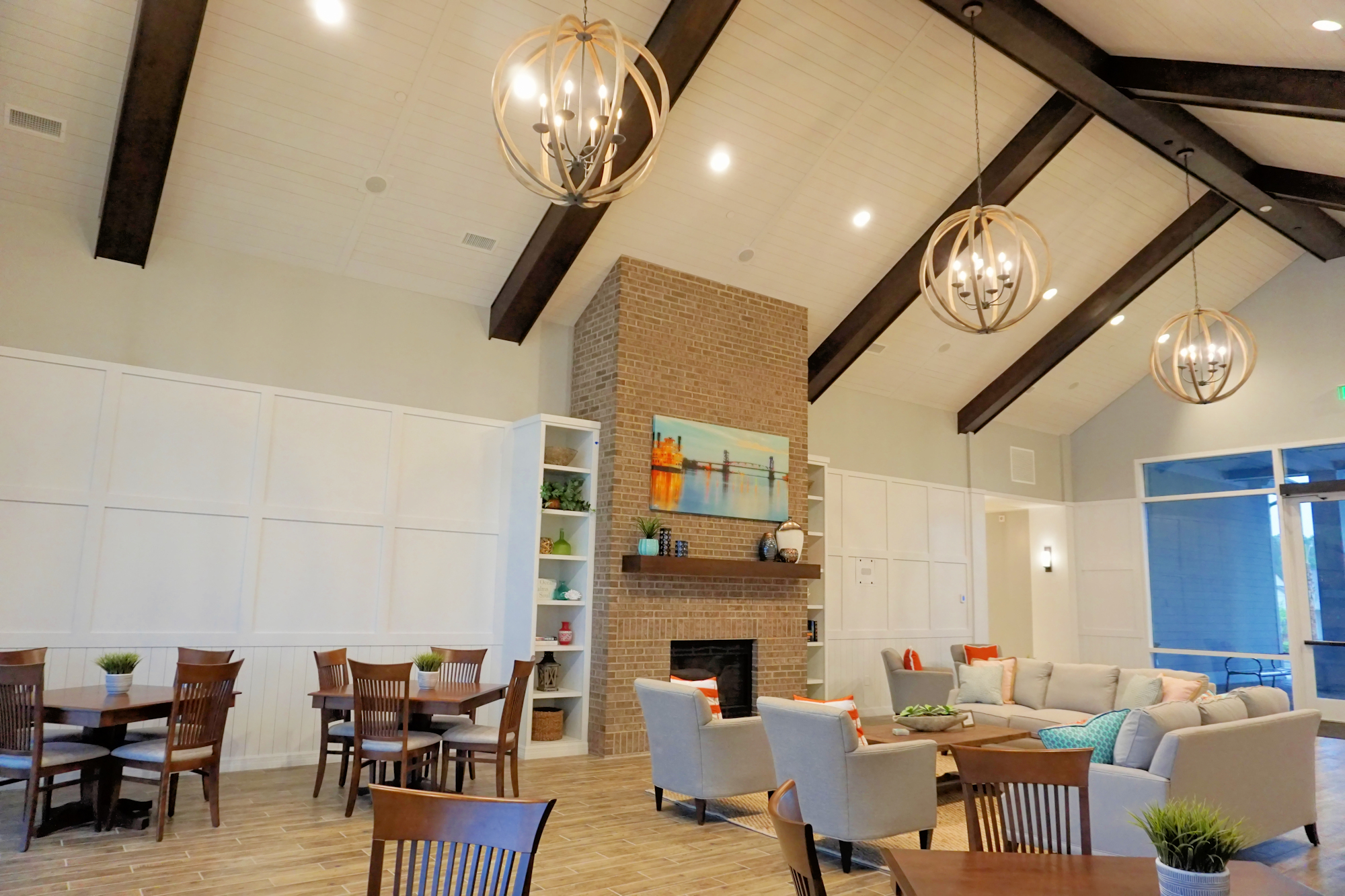Del Webb of Wilmington – Clubhouse Interior
