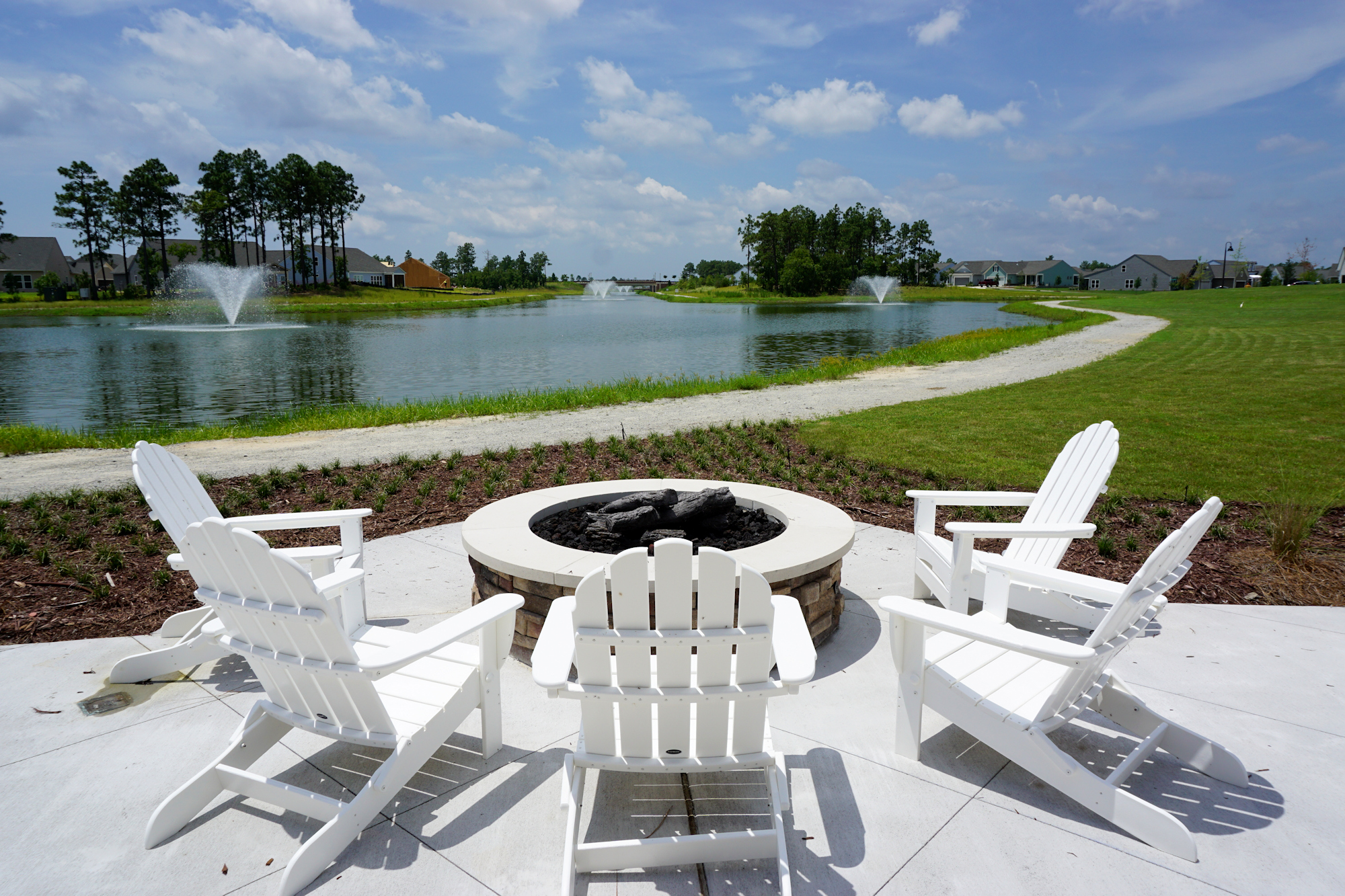 Del Webb of Wilmington - Fire Pit