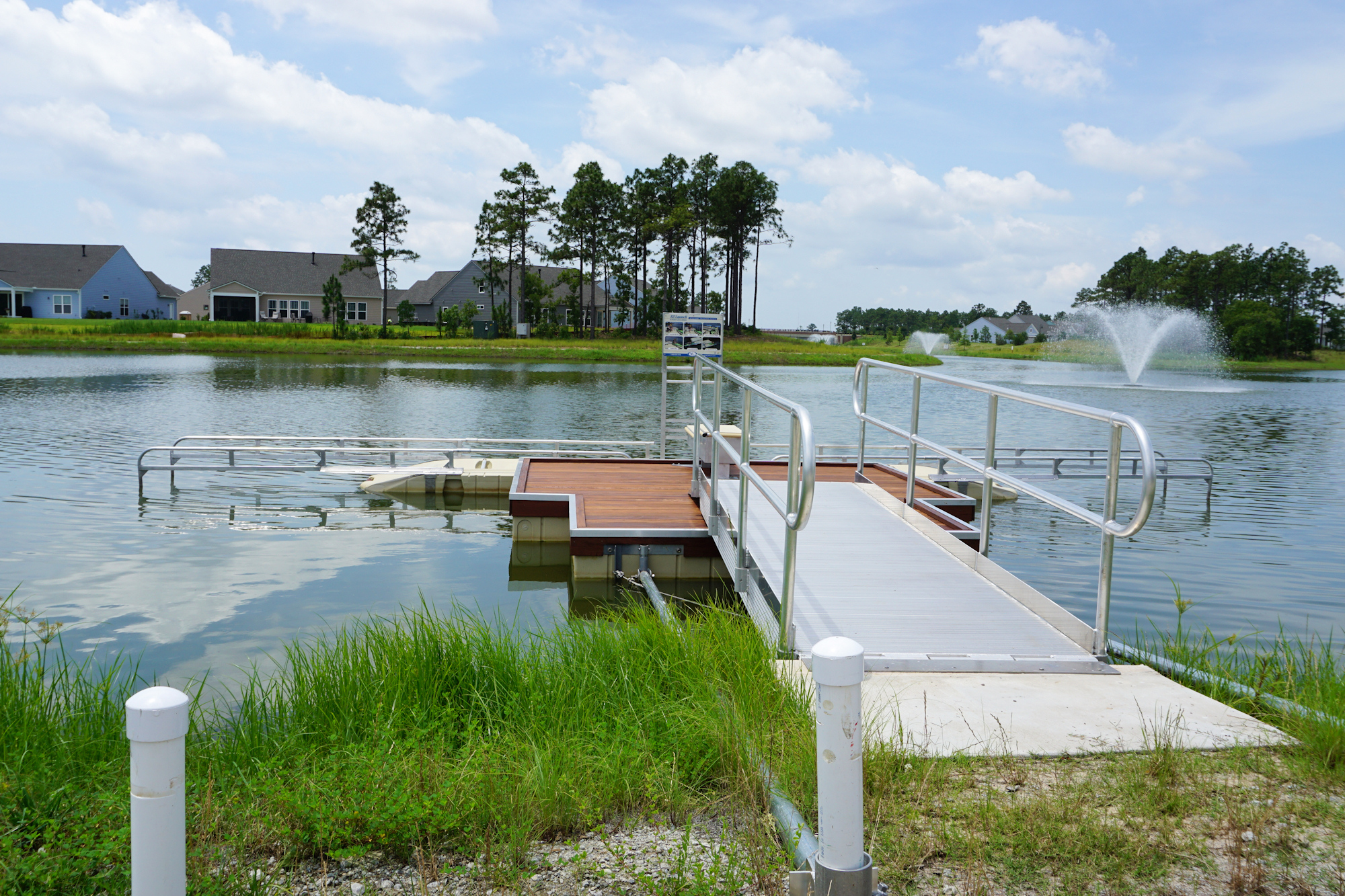 Del Webb of Wilmington - Kayak Launch
