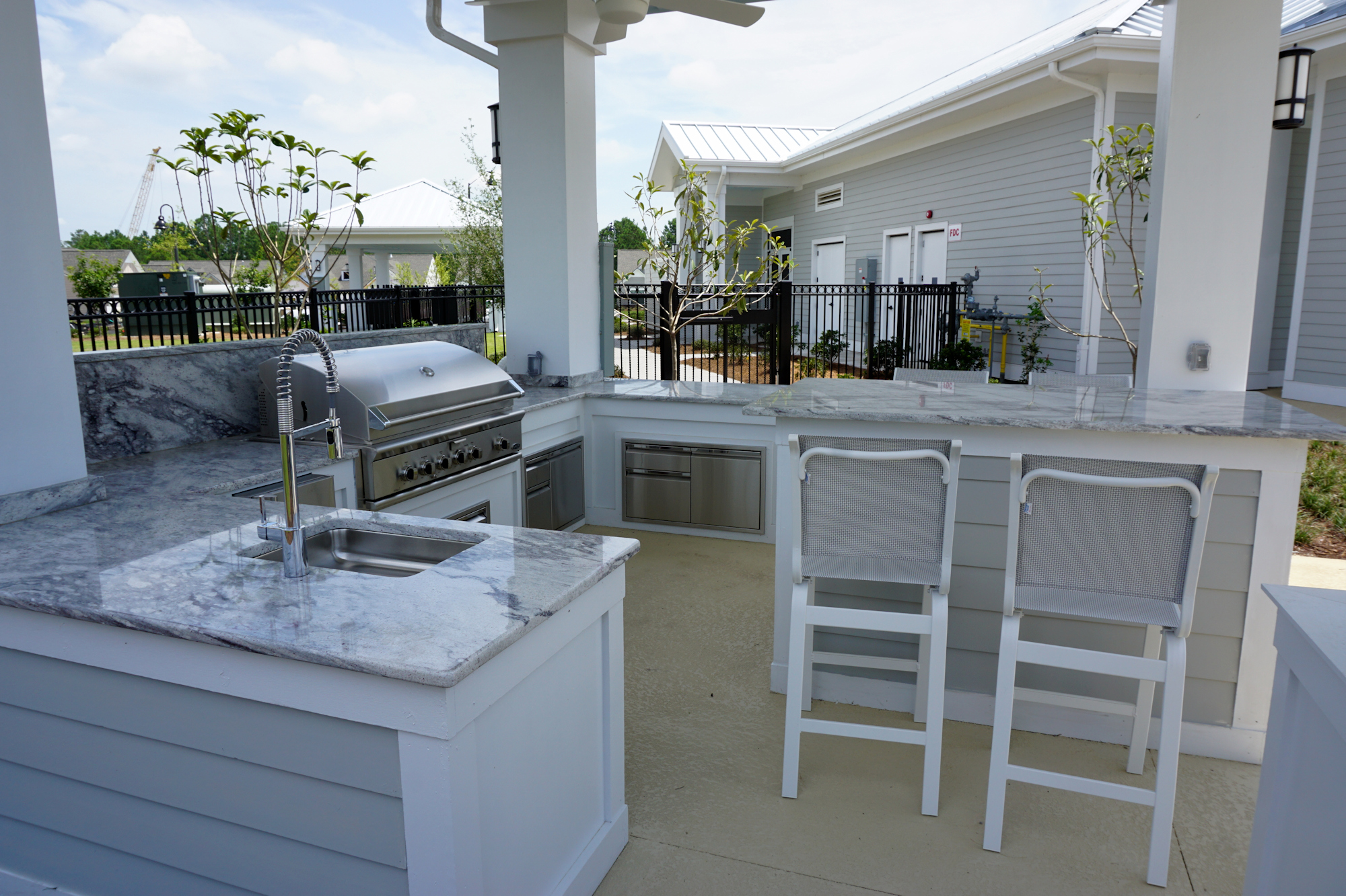 Del Webb of Wilmington - Outdoor Kitchen