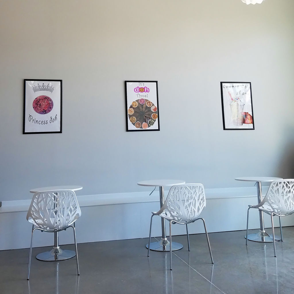 Doh Cones Edible Cookie Dough - Wilmington NC - Seating