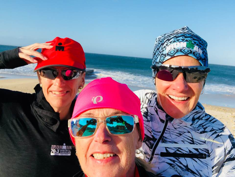 Melanie, Mary Lynne, and Ginger in South Africa