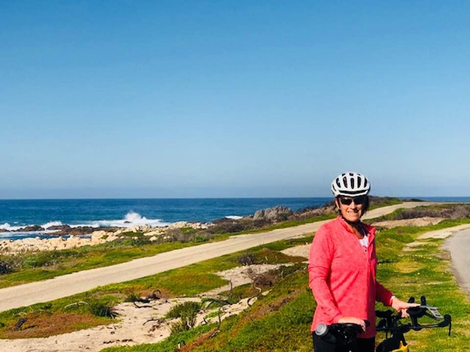 Melanie Cameron at Port Elizabeth in South Africa