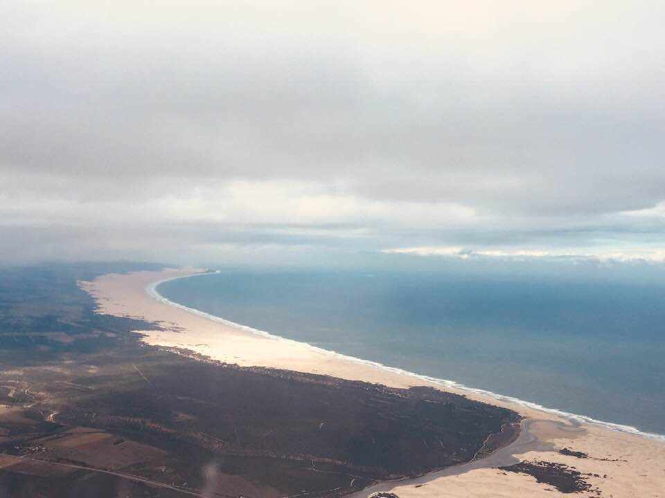 View of South Africa from Plane