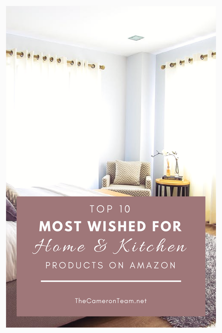 Top 10 Most Wished for Home & Kitchen Products