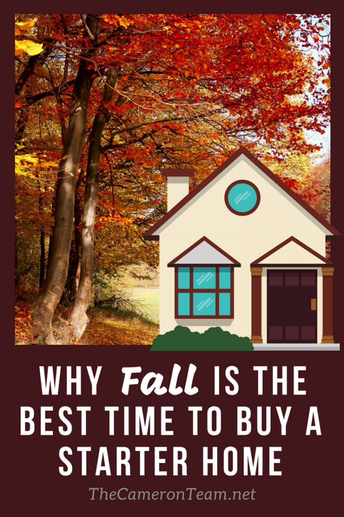 Why Fall is the Best Time to Buy a Starter Home