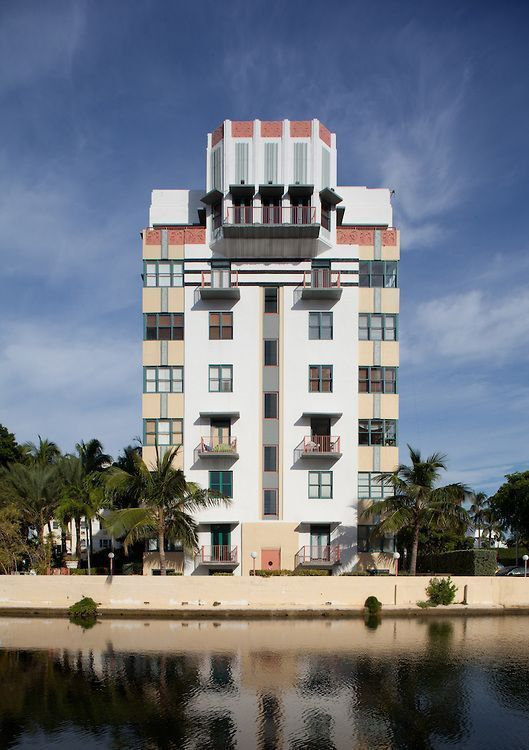 helen mar art deco building south beach