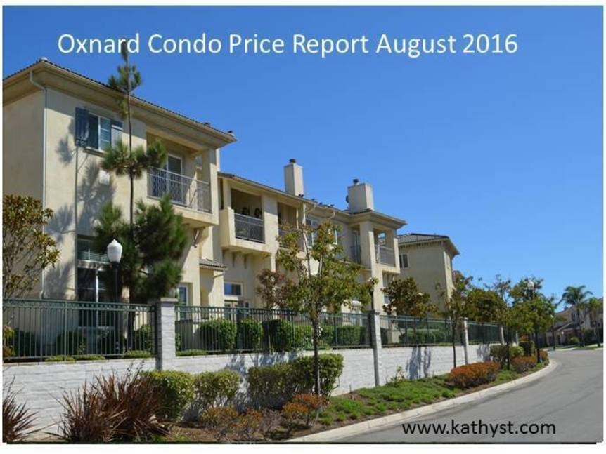 Oxnard Condo Price Report August 2016 example of Oxnard Condo