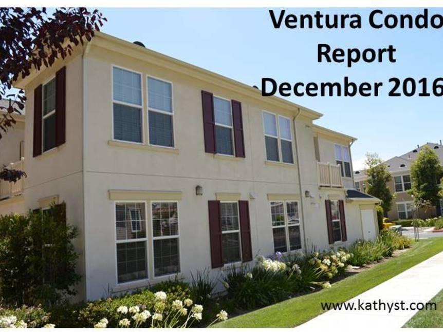 Ventura Condo Report December 2016