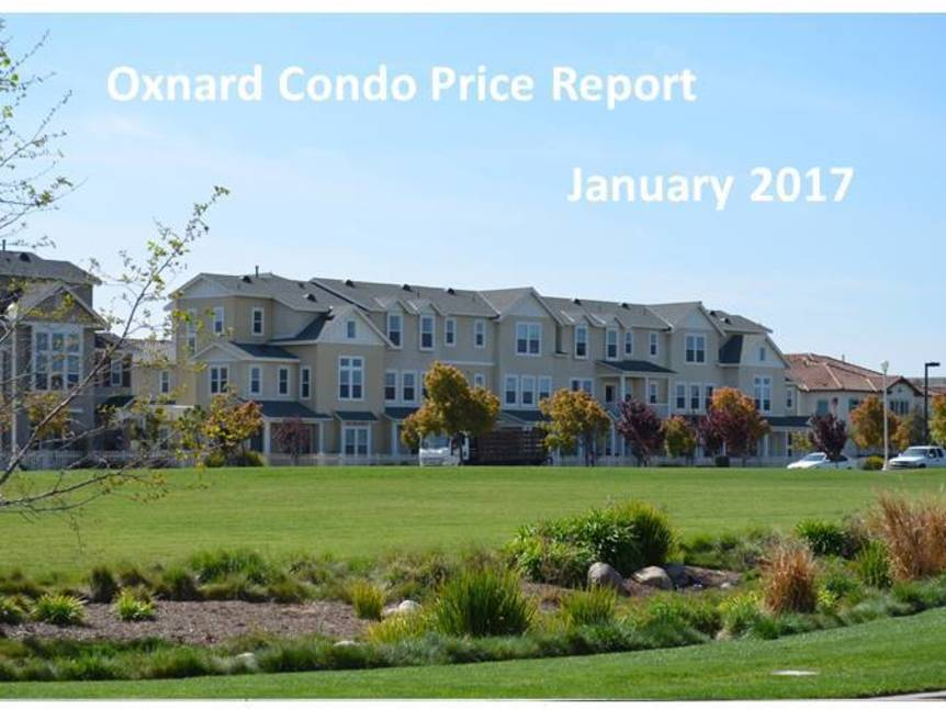 Oxnard Condo Price Report January 2017 example of Oxnard condo