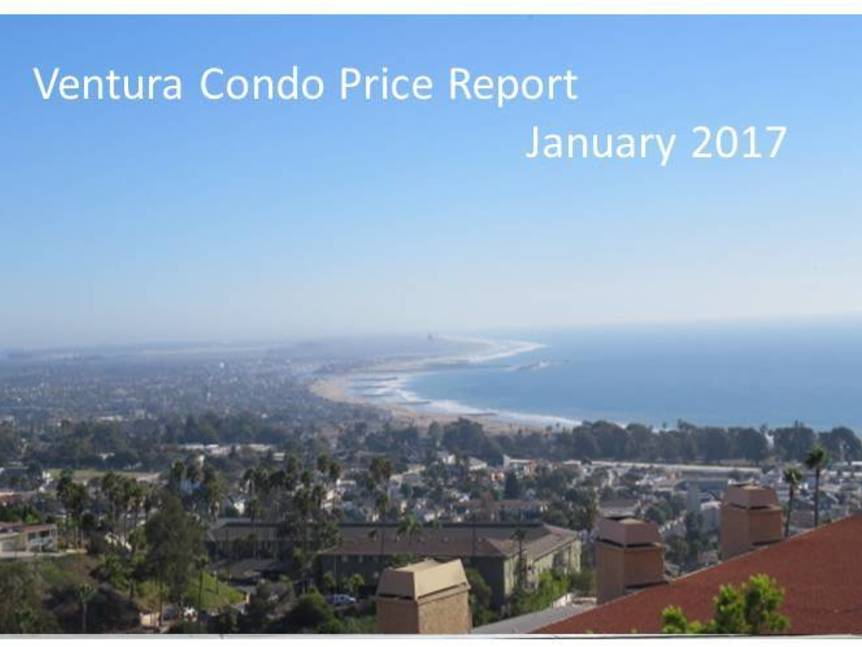 Ventura Condo Price Report January 2017 example of ventura condo