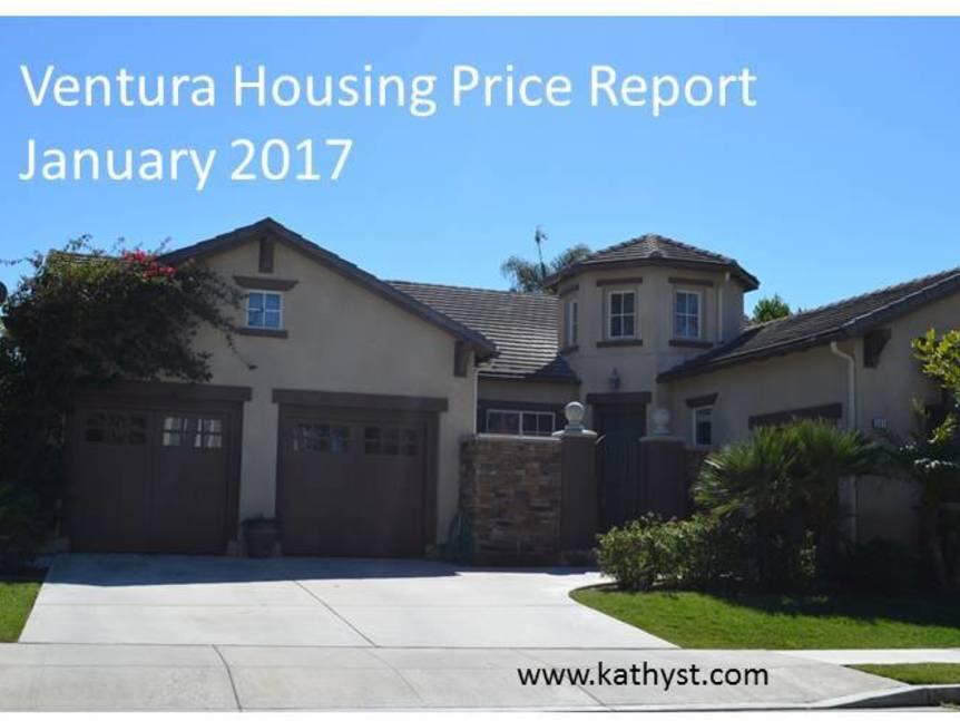 Ventura Housing Price Report January 2017 example of ventura home