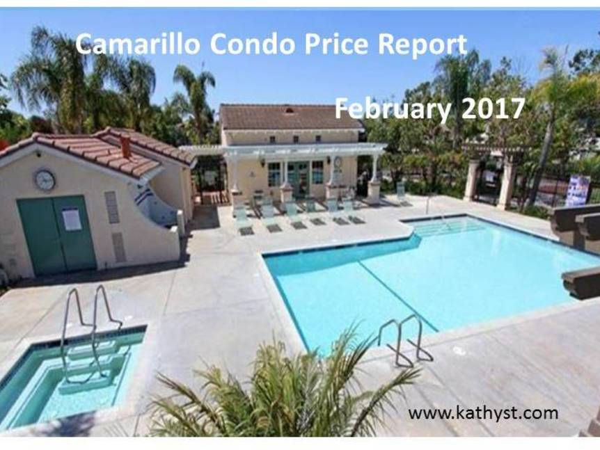 Camarillo Condo Price Report February 2017