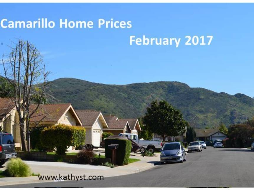 Camarillo Home Prices February 2017
