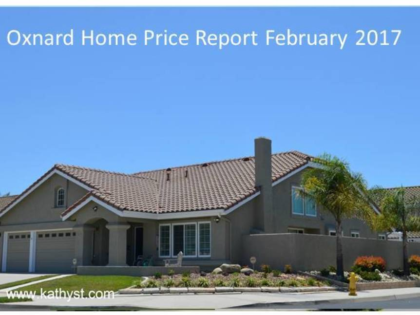 Oxnard Home Price Report February 2017 example of Oxnard home