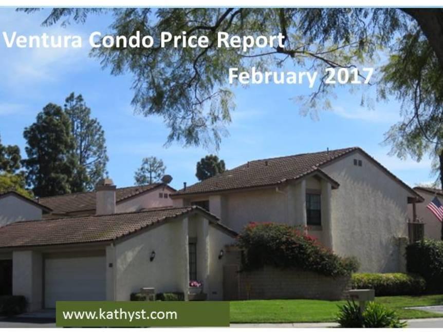 Ventura Condo Price Report February 2017 image of Ventura Condo
