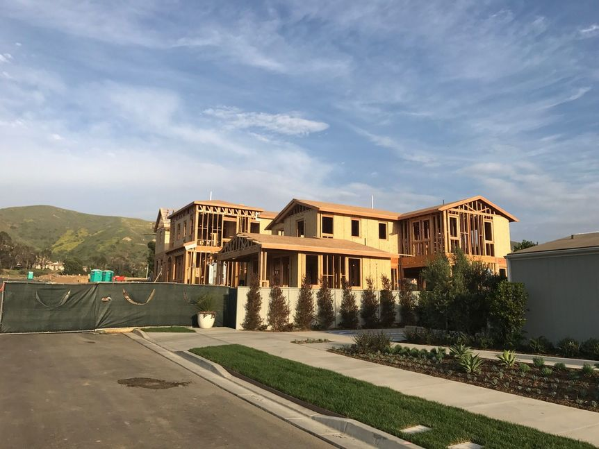 New Homes going up in Ventura