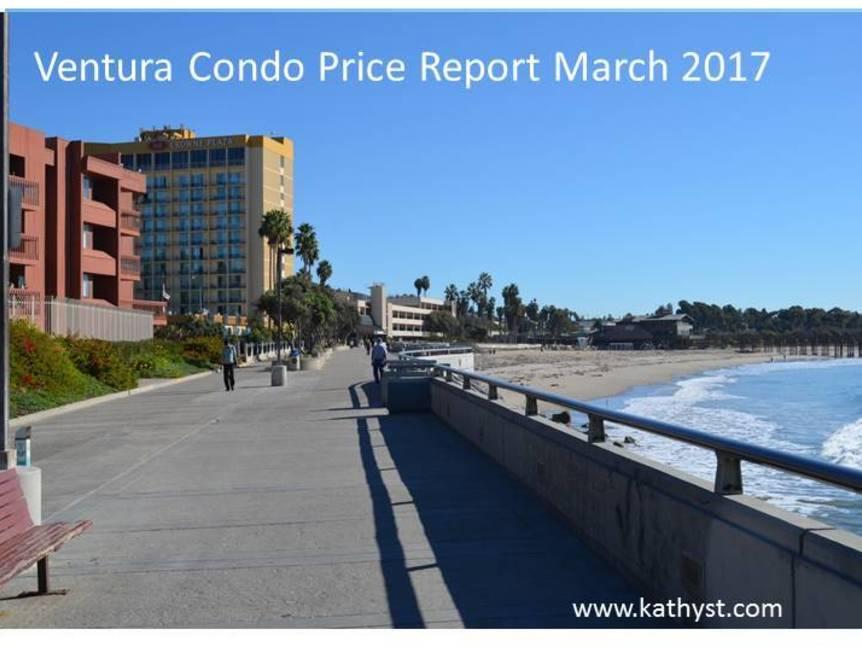 Ventura Condo Price Report March 2017 view of ventura coastline