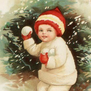 Antique-Snowball-Boy-Postcard-thm-GraphicsFairy-320x320